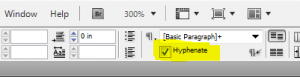 hyphenate